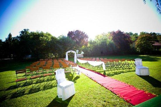 Gereby Kuria Hotel: Wedding ceremony