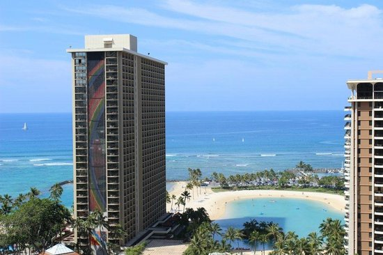 Hilton Grand Vacations at Hilton Hawaiian Village: Gorgeous view