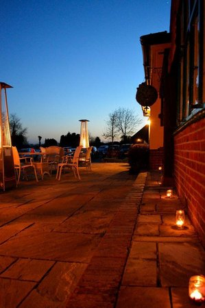 Restaurant 54: Terrace with Tealights