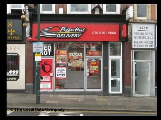 Pizza Hut London 18 North End Rd Restaurant Reviews
