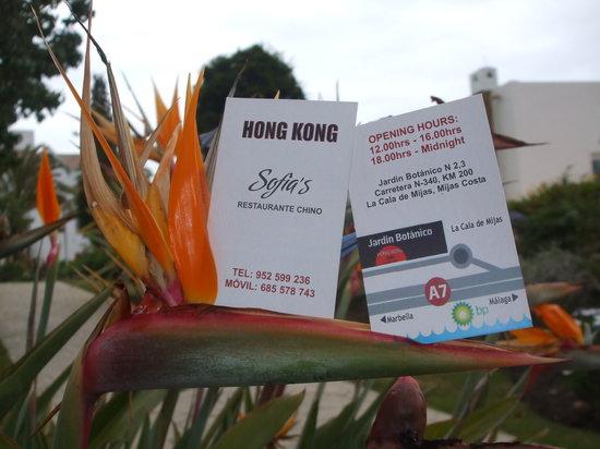 Hong kong la cala de mijas lugar urbanizacion jardin for Jardin botanico numero telefonico