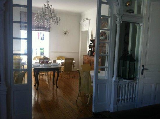 Hotel Edouard VII : Столовая