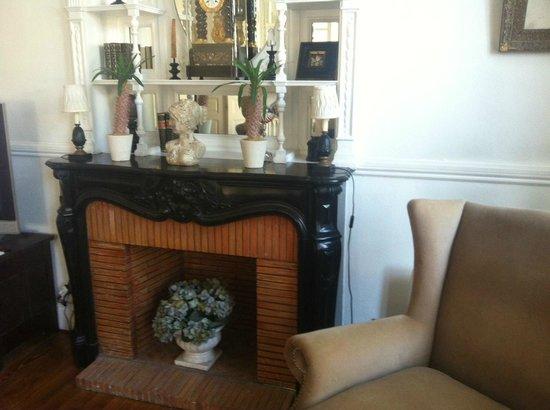 Hotel Edouard VII : Гостиная