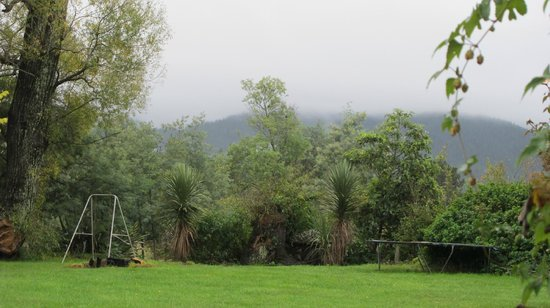 Cranbrook Cottage: view from the verandah