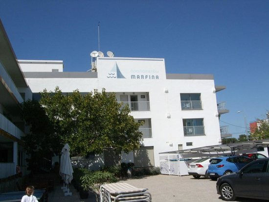 Apartamentos Marfina: Apartment building