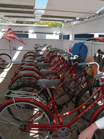Apartamentos Marfina: all the bicycles you can use