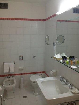 Plaza Lucchesi Hotel: bagno