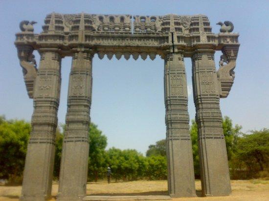 Warangal, Hindistan: Kirti torana of Kakatiya Dynasty