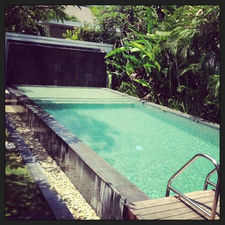 The Samaya Bali Seminyak : Our private villa pool