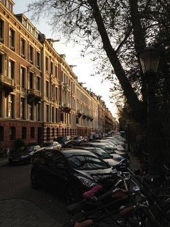Hotel Vossius Vondelpark: via dove è situato l'hotel