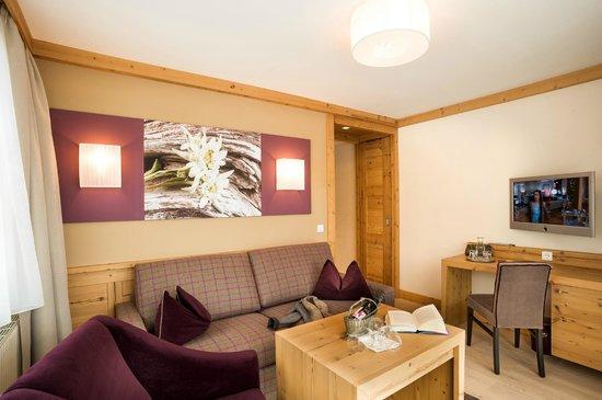 Hotel Bismarck : Wohnzimmer Suite
