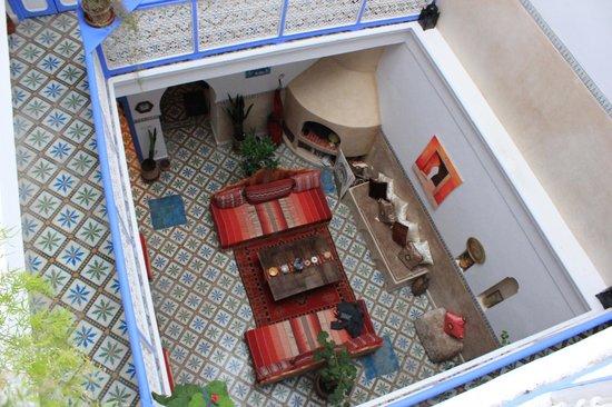 Riad Amana: intérieur du riad