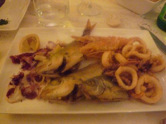 Ristorante Sottovento: fritto di pesce!!!