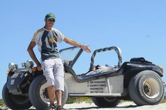 Farr Out Guesthouse: Go for a tailor made Beach Buggy trip with tour guide Deon