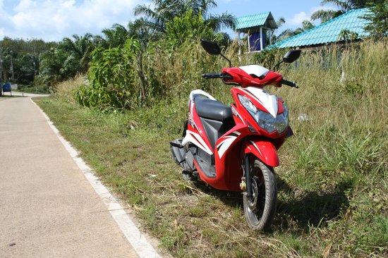 Lanta Palm Beach Resort: rent a bike?
