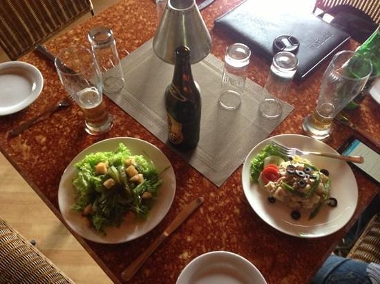 History Restaurant: салаты