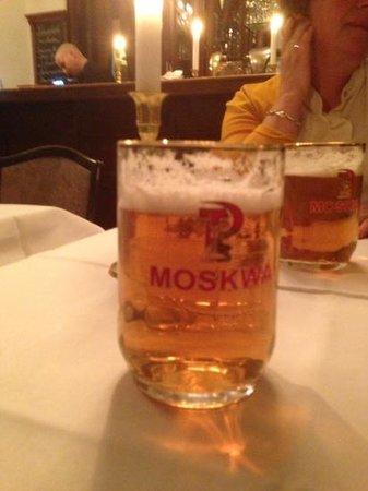 Pasternak: moskva beer