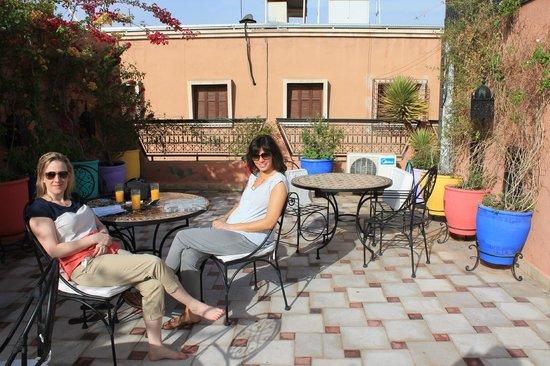 Riad Nesma: roof terrace