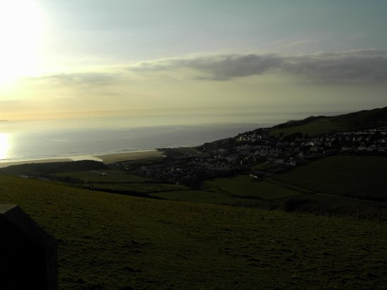 Woolacombe Beach: one of the many walks from the site looking towards Woolacombe Bay