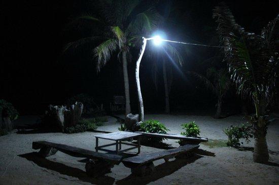 Casa Consuelo: At night