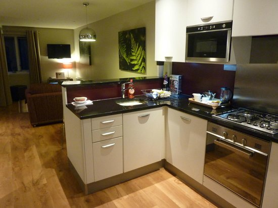 Center Parcs Whinfell Forest Kitchen Area In Lakeside Apartments
