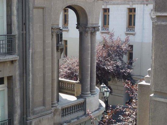 Hotel Paris Londres: Blick vom zweiten Stock auf die Paris / Londres