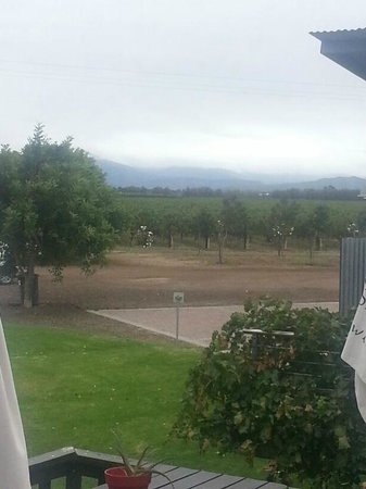 Viljoensdrift Wine Farm: View from the deck