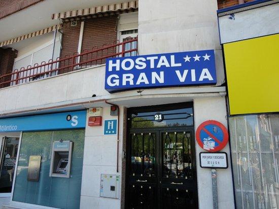 hostal gran via entrada