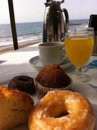 Dunas Don Gregory: Desayuno con vistas al mar