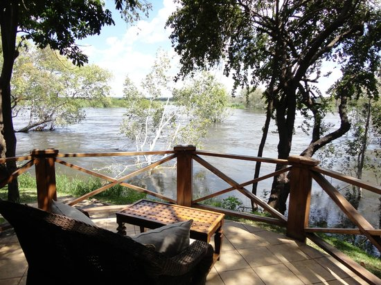 Thorntree River Lodge: view from patio