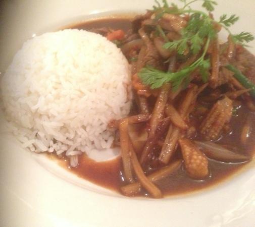 Nakorn Thai Restaurant: spicy beef n chilli