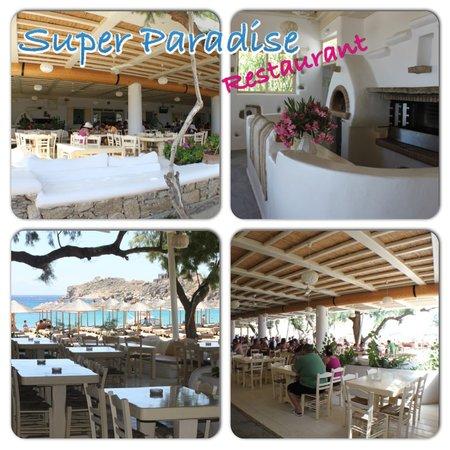Super Paradise Hotel: Restaurant