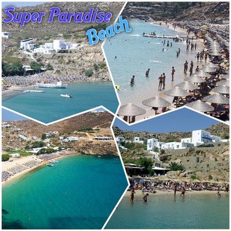 Super Paradise Hotel: Super Paradise Beach