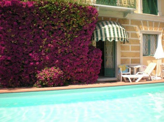 Hotel Miramare: la camera 201 e la piscina dell'hotel