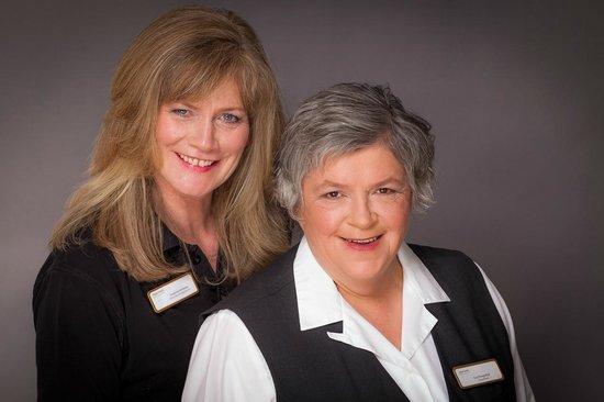 relexa hotel Bellevue: Hausdame und Stellvertrerterin