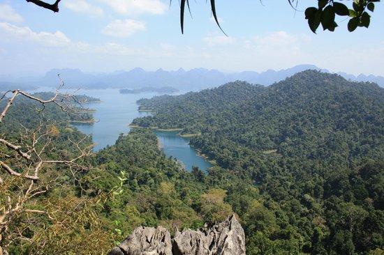 Khao Sok Green Mountain View Resort in Paradise: Khao Sok view point