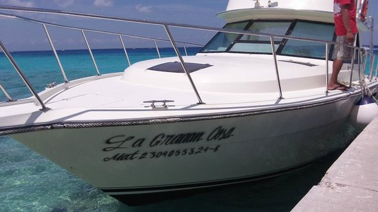 Playa Azul: La Graaan Cosa = great fishing crew!