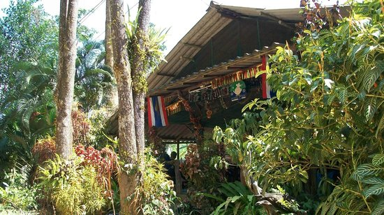 Khao Sok Green Mountain View Resort in Paradise: restaurant