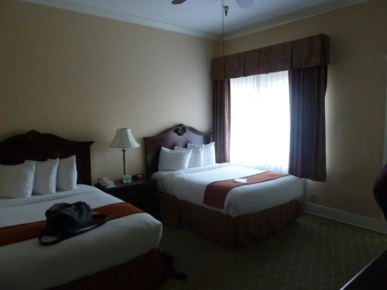 The Historic Santa Maria Inn: Twin room