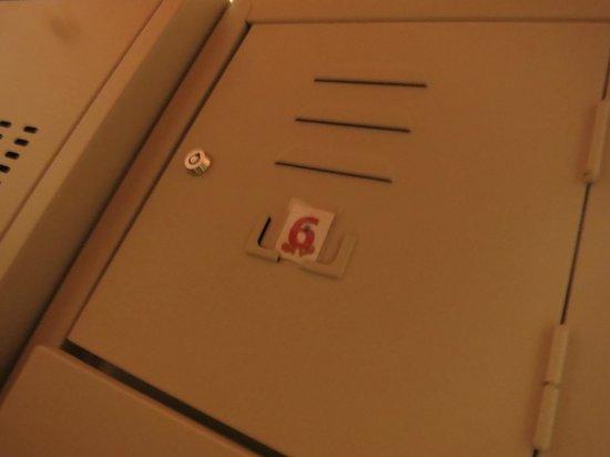 Dreaming Rome Hostel: lockers