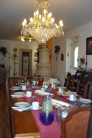 B&B Renè: Vista della sala colazioni
