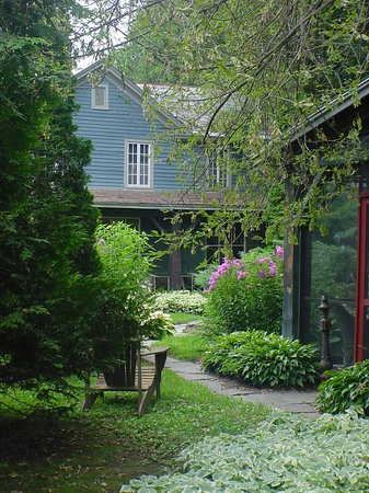 The Old Mill Bed & Breakfast: Old Mill Garden View