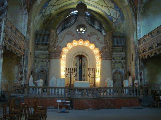Synagogue: interier