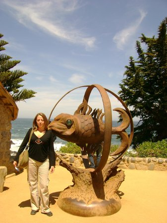how to get to isla negra from santiago