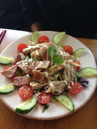 The Plough on the Hill: Caesar salad