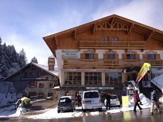 Alte Wurzhütte: im März 2013