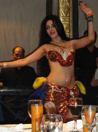 Travel2cairo Nile Dinner Cruise : Nile Cruise Belly Dancer