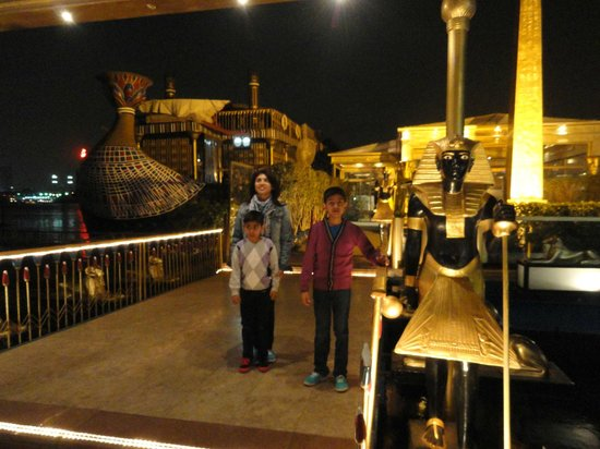 Travel2cairo Nile Dinner Cruise : Very Authentic