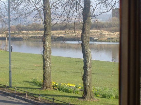 The Ferry Inn: the view from our room