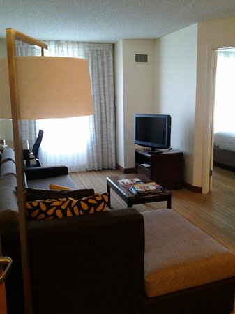 Residence Inn San Antonio Downtown/Alamo Plaza: Living room